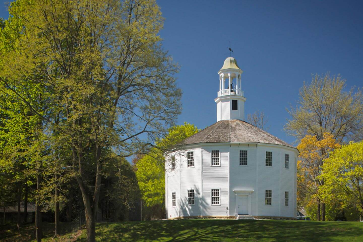 Richmond Vermont Round Church